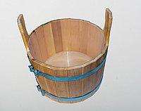 Таз деревянный для бани и сауны, шайка 20 л