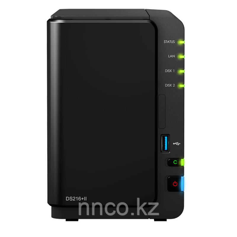 Synology DS216+II  2xHDD NAS-сервер «All-in-1»