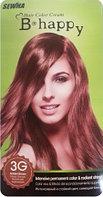 B-happy Hair Color Cream Стойкая крем-краска для волос 3G Золотисто-коричневый