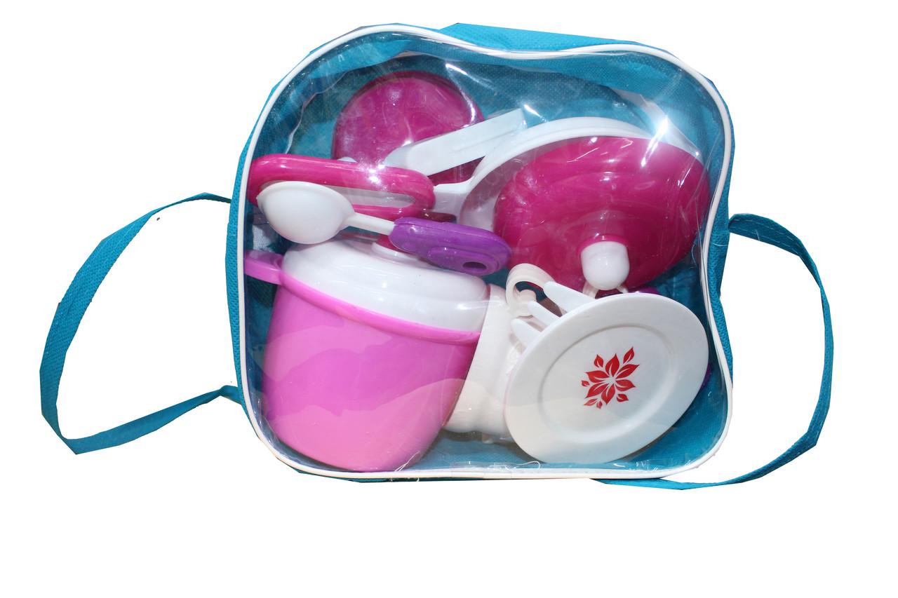 Набор посуд в сумке 3611
