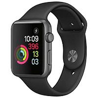 Apple Watch Series 2, 38mm Space Grey Aluminium Case with Black Sport Band (MP0D2)