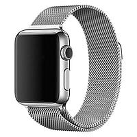 Apple Watch Series 2, 38mm Stainless Steel Case with Silver Milanese Loop (MNP62)
