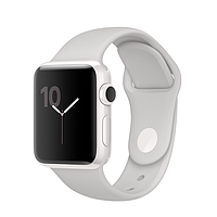 Apple Watch Edition, 38mm White Ceramic Case with Cloud Sport Band (MNPF2)