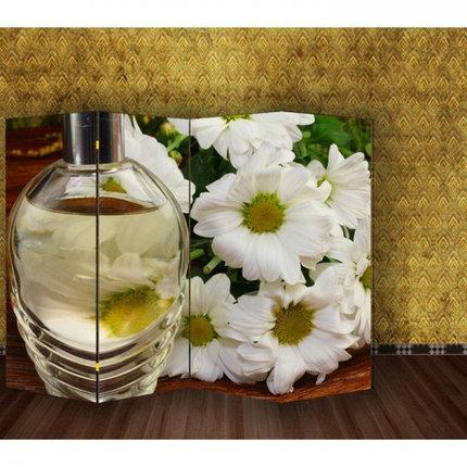"Ширма ""Белые цветы"" 200х160см   1997368, фото 2"