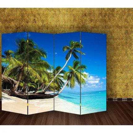 "Ширма ""Пальмы на пляже"" 200х160см   1997373, фото 2"