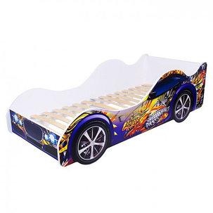 Кровать-машина «Синий дракон», фото 2
