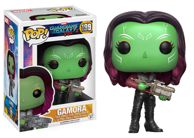 "Фигурка-башкотряс ""Стражи Галактики – Гамора"" (#199 Guardians of the Galaxy – Gamora Pop! Vinyl)"