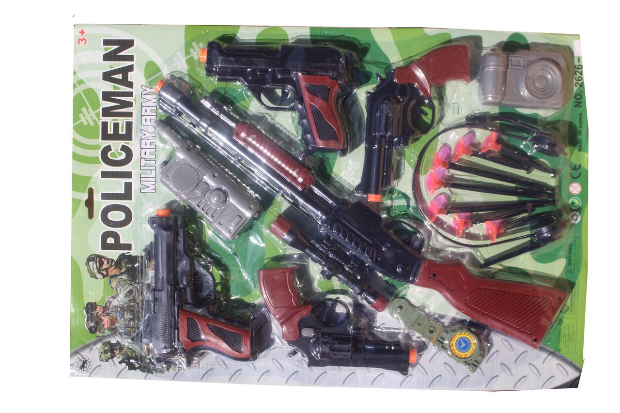 Набор пистолет (полиция) 2626-6