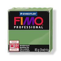 Staedtler Fimo professional  (масса для лепки) leaf green 85 гр 751314