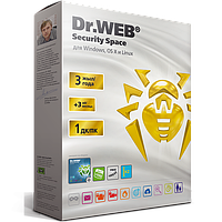 Dr.Web Security Space Gold (BOX) База 1 ПК/3 года