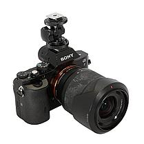 Башмак-адаптер (металл) для фото и видео-аксессуаров, фото 3