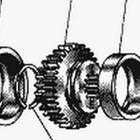 Блок шестерён ведущего вала ДТ-75 (77.52.209)