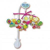 """Музыкальный мобиль """"Бабочки"""" от Biba Toys"""