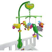 """Музыкальный мобиль """"Попугайчики"""" от Biba Toys"""