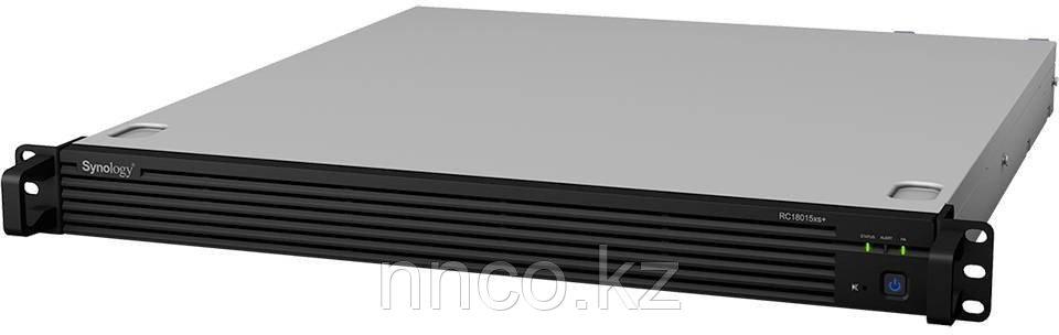 Synology RC18015xs+    2U NAS-сервер 2 блока питания (до 180-х HDD модуль RXD1215sas)