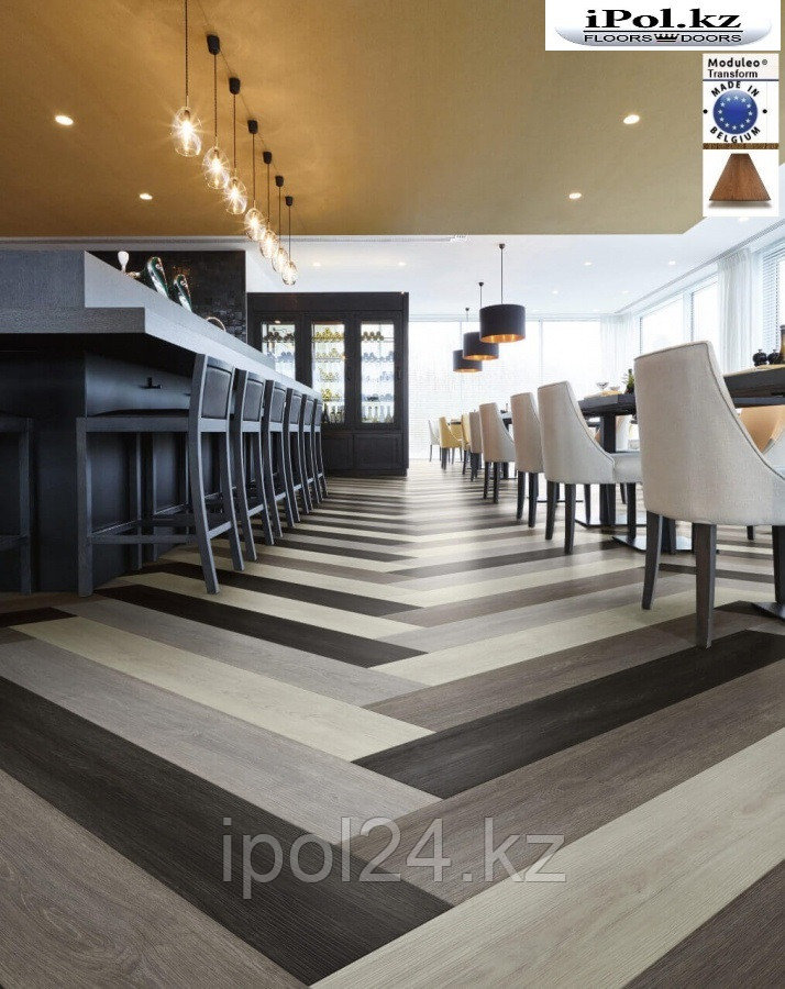 Moduleo transform click for Commercial bar flooring