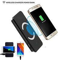 Noname Wireless Charger Power Bank Samsung W3 9000 mAh