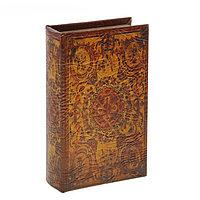 "Шкатулка-книга ""Арабский орнамент"", 5 см × 13 см × 21 см, фото 1"