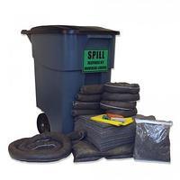 50-Gal Spill Kit Набор для сбора разливов масла, химических и технических жидкостей