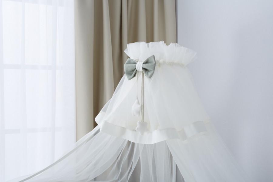 Балдахин для кроватки Perina Бамбино Олива