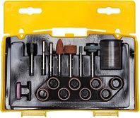 """Набор мини-насадок STAYER """"MASTER"""" для гравировальных машин, 67 предметов, пластиковый кейс"""