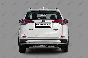 Защита заднего бампера Toyota RAV-4 2015- D 60,3