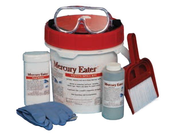Mercury Spill Kit Набор по сбору ртути
