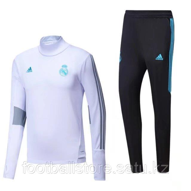 Тренеровочный костюм Adidas Real Madrid Tracksuit 17/18 - FOOTBALL STORE в Алматы