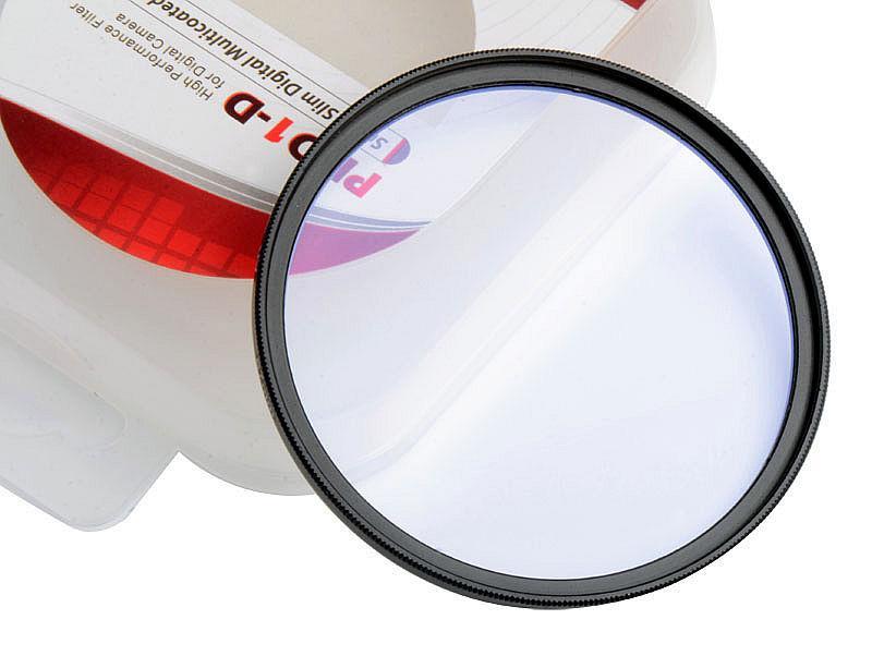 Защитное стекло ультра тонкий 77 мм - UV фильтр PRO1-D