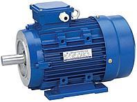 1,1кВт-1500 об/мин электродвигатель АИР80А4.