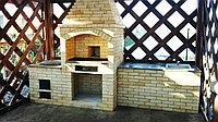 Строительство летних кухонь из кирпича, фото 1