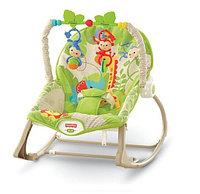 """Кресло-качалка """"Веселые обезьянки из тропического леса"""" от I-baby, фото 1"""