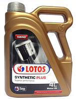 Моторное масло LOTOS SYNTETIC PLUS THERMAL CONTROL 5w40 4 литра