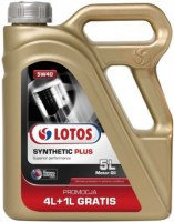 Моторное масло LOTOS SYNTETIC PLUS THERMAL CONTROL 5w40 4+1 литра