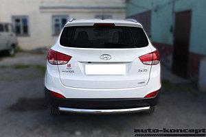 Защита задняя D 60,3 Hyundai IX-35