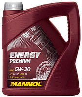 Моторное масло MANNOL Energy Premium 5w30 4 литра