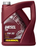 Моторное масло MANNOL Diesel TDI 5w30 4 литра