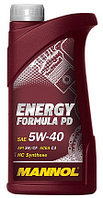 Моторное масло MANNOL Energy Formula PD 5w40 1 литр