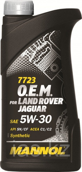 Моторное масло MANNOL O.E.M. for Land Rover Jaguar 5w30 1 литр
