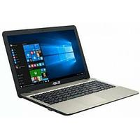 "Ноутбук ASUS X541SA, Celeron N3060-1.6GHz/15.6""HD/500Gb/2Gb/Intel HD/WLAN/BT/Cam/W10"