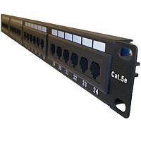 "LinkBasic PND24-UC5E Коммутационная панель 5e кат., UTP 19"",1U, 24хRJ45"