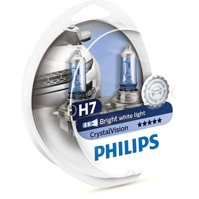 Галогенные лампы Philips Crystal Vision H7 4300K 12972CVSM