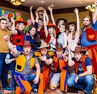 Новогодние корпоративы с шоу программой Алматы