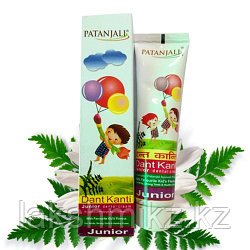 Детская зубная паста, Dant Kanti Junior Dental Cream, Patanjali
