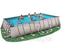 Каркасный бассейн BestWay 56278 (671х366х132 см) с песочным насосом, фото 1
