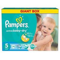 Подгузники Pampers Active Baby Junior 11–18 кг, 78 шт