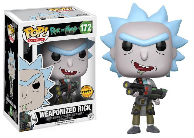 "Фигурка ""Рик и Морти – Рик"" (#172 Rick and Morty – Weaponized Rick Pop! Vinyl Figure)"