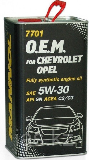 Моторное масло MANNOL O.E.M. for Chevrolet Opel 4 литра