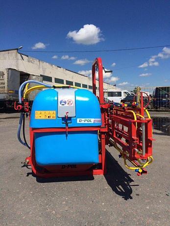 Опрыскиватель 800 литров с захватом 12/16 метров D-POL, фото 2
