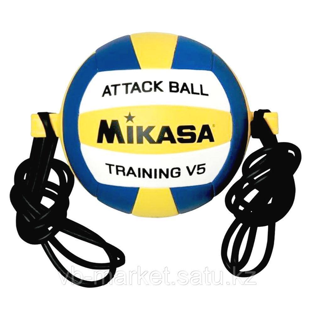 Волейбольный мяч на растяжках MIKASA V5 ATTR-WYB